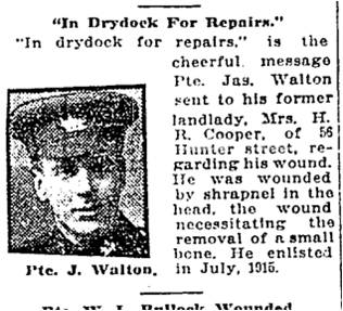 Toronto Star, Dec. 21, 1917 Hunter Street