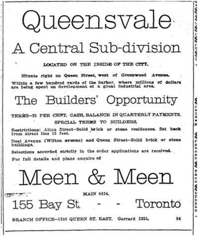 Toronto Star, June 21, 1913