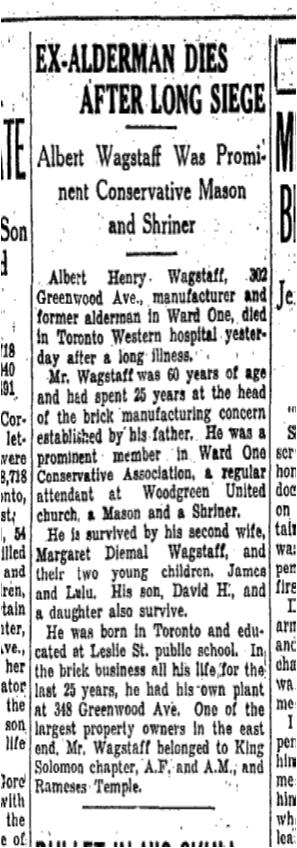 Toronto Star, April 20, 1931