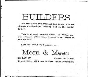 Toronto Star, Aug. 8, 1913