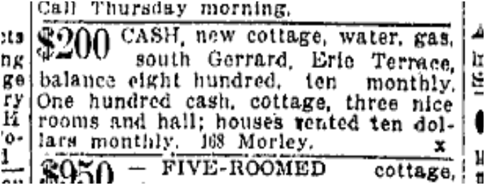 Toronto Star, Aug. 28, 1912