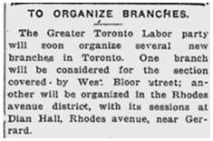 Toronto World, Aug, 22, 1918