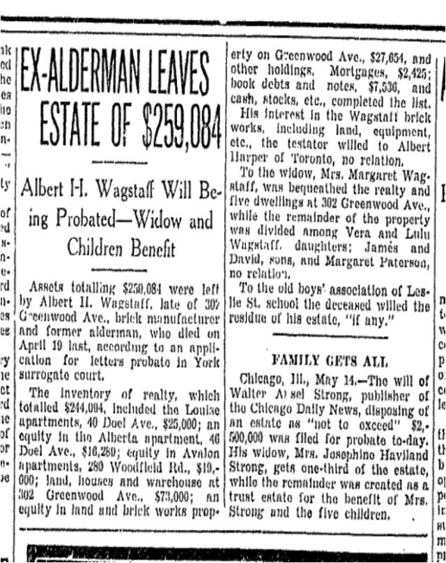 Toronto Star , May 15, 1931