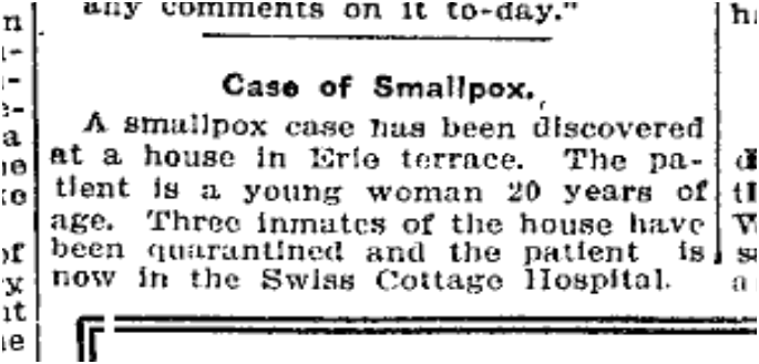 Toronto Star, Dec. 7, 1912