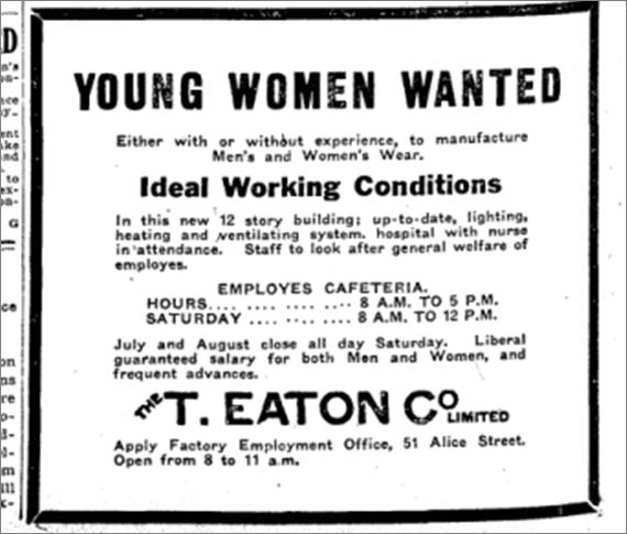 Toronto Star, April 26, 1919