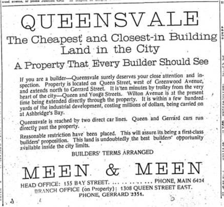 Toronto Star, April 1, 1914