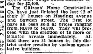 Toronto Star, April 16, 1914