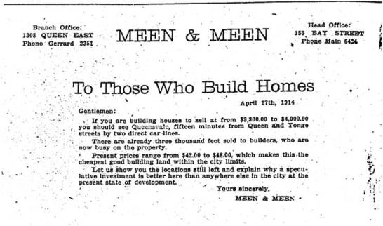 Toronto Star, April 17, 1914