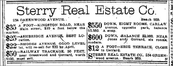 Toronto Star, Feb. 27, 1913