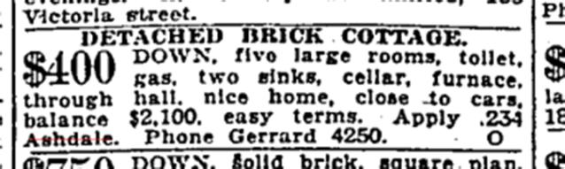 Toronto Star, March 23, 1920