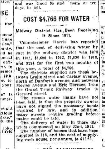 Toronto Star, March 12, 1914