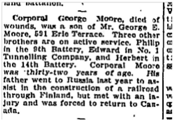 Toronto Star, July 6, 1916
