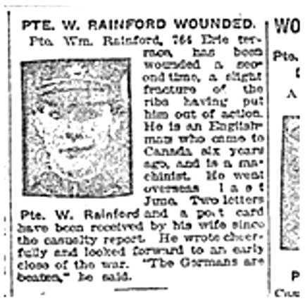 Toronto Star, April 28, 1917