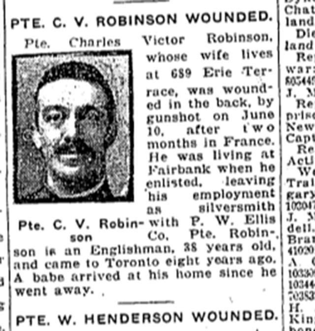 Toronto Star, June 25, 1917
