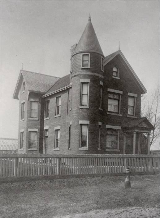 Martin McKee house, Jones Ave., w. side, between Boultbee & Strathcona Aves. Toronto Public Library, 1900