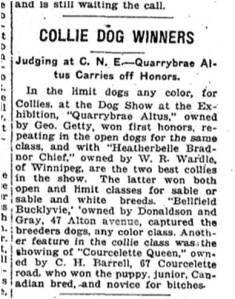 Toronto Star, Sept. 4, 1919