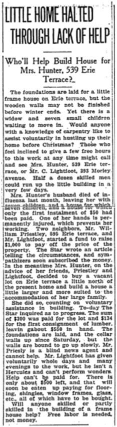 Toronto Star, Nov. 22, 1918