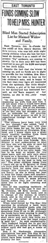 Toronto Star, Oct 24, 1918