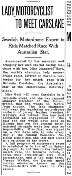 Toronto Star, Aug. 27, 1914