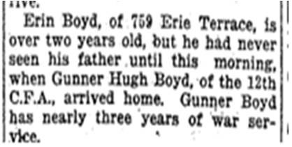Close up, Toronto Star, Jan. 13, 1919