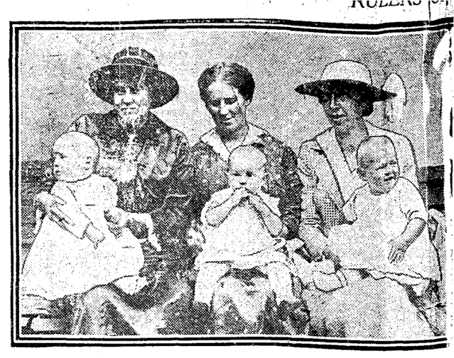Middle baby, Albert Thompson, 47 Erie Terrace, Toronto Star, Sept 2, 1919