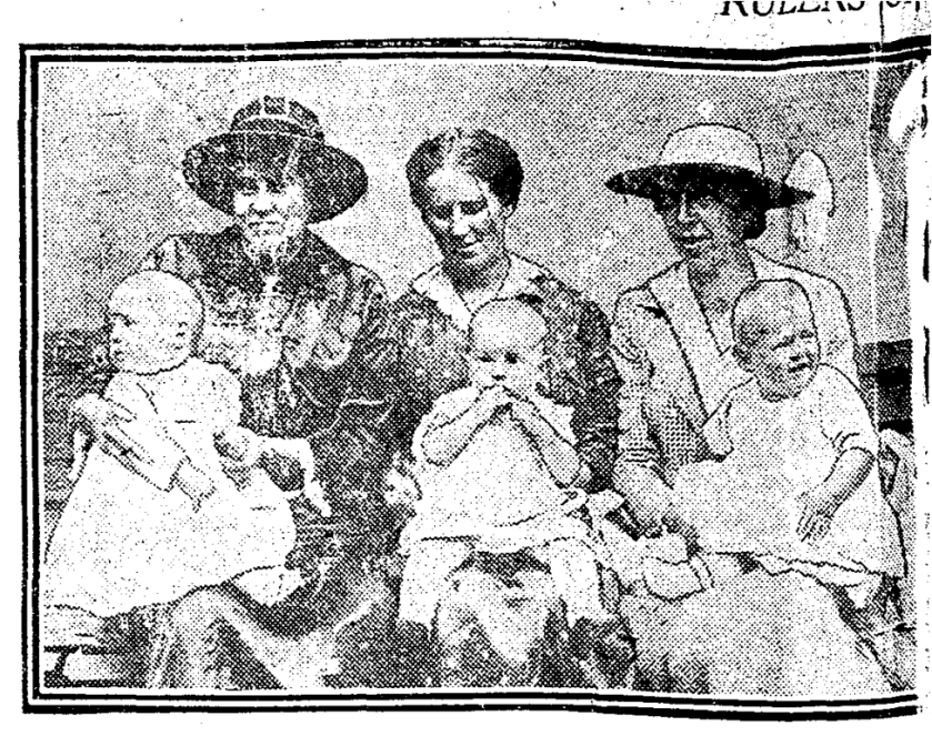 Middle baby, Albert Thompson, 47 Erie Terrace, Toronto Star, Sept 2, 1919