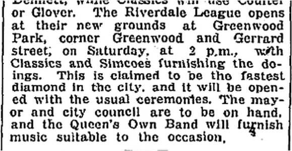 Toronto World, July 1, 1920