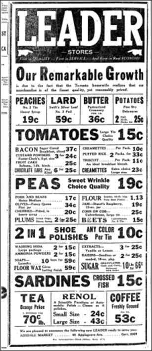 Ashdale Market, Toronto Star, May 28 1925