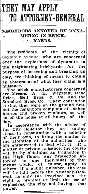Globe, Aug. 15, 1911 Seymour Avenue