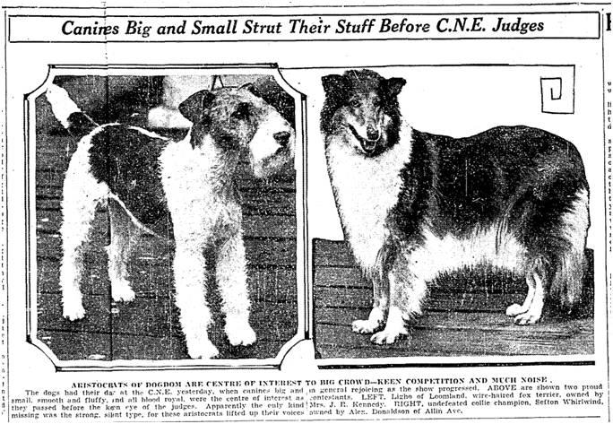 Toronto Star, Sept. 2, 1930