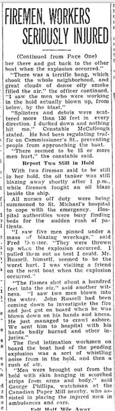 Toronto Star, July 23, 1934