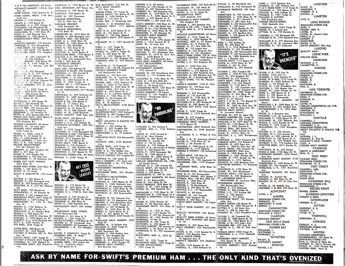 Toronto Star, April 11, 1936