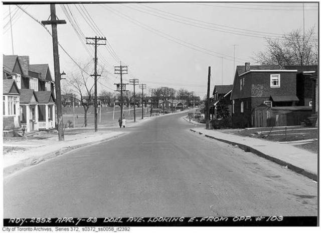 Alton and Doel (future Dundas) April 7, 1953