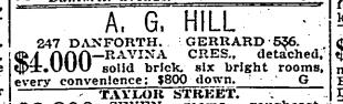 Toronto Star, March 6, 1920