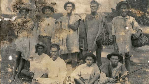 "The descendents of ""Red Legs"", Barbados"