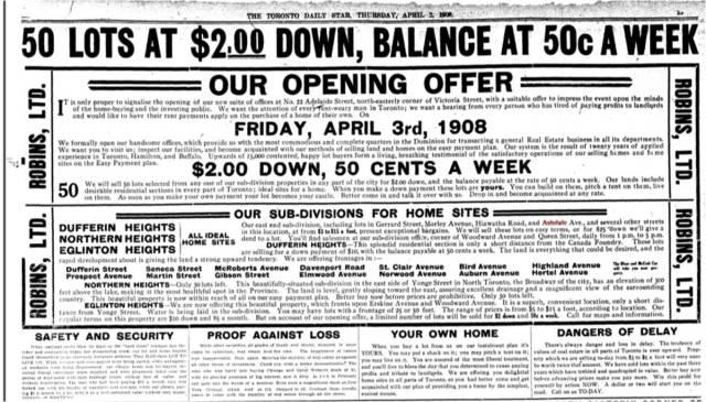 Toronto Star April 2 1908