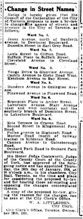 Toronto Star Jan 21 1924