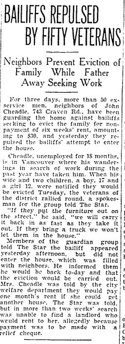 Toronto Star, May 18, 1933