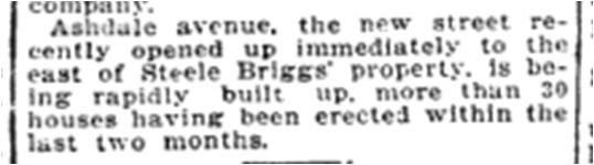 Toronto Star, Oct. 10, 1906