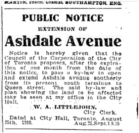 Toronto Star Sept 8 1910