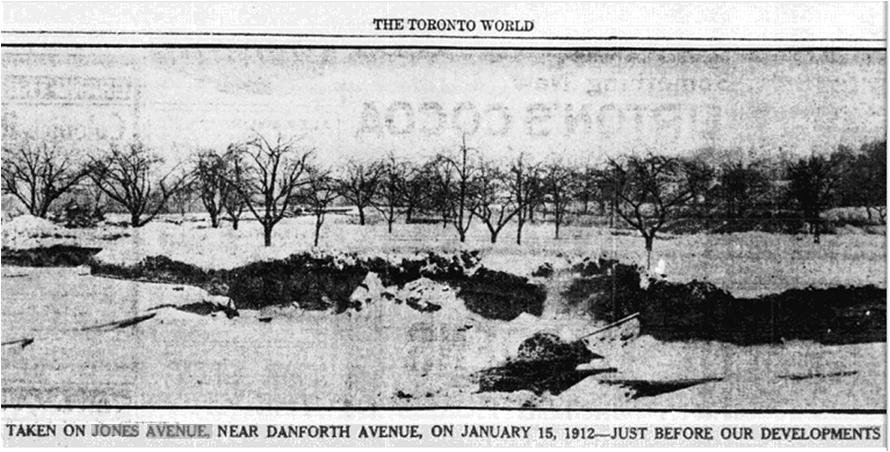 Toronto World, March 21, 1913Hastings Creek, The Pocket