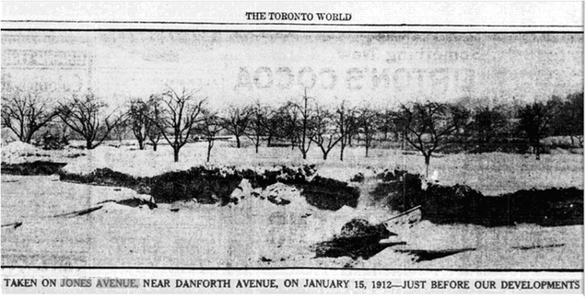 Toronto World, March 21, 1913Hastings Creek, The Pocket