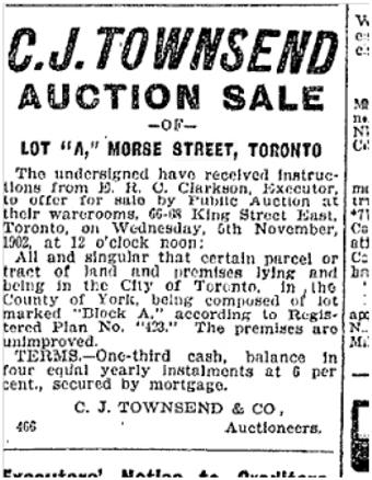 123 Morse Toronto Star Oct. 23, 1902