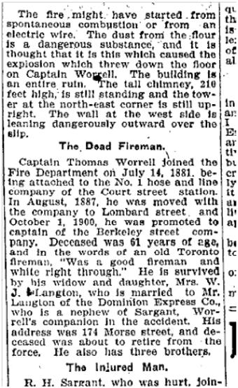 176 Morse St., Toronto Star, Sept. 19, 1905