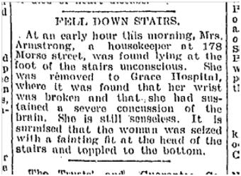 178 Morse Street Toronto Star July 27, 1899