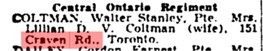 181 CR 19441116GM Coltman KIA