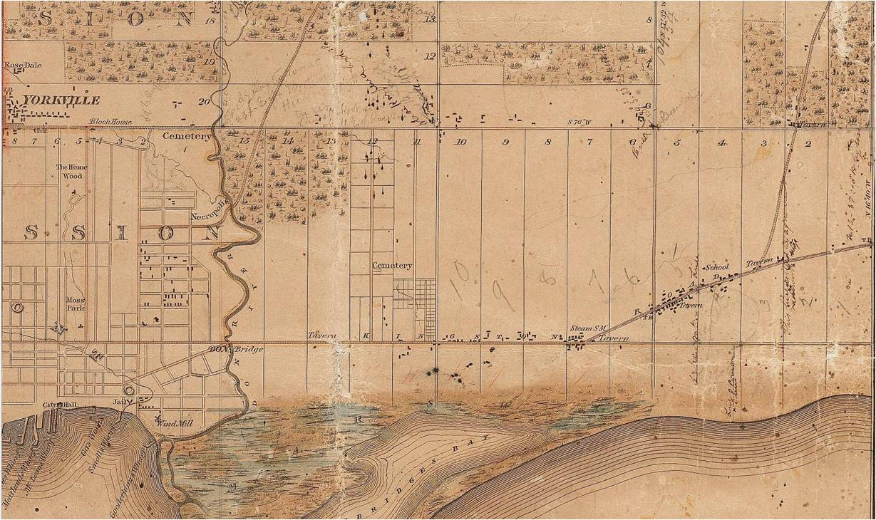 18510000 Leslieville Map