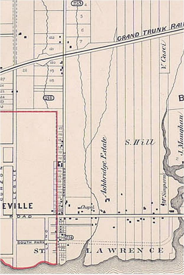 18840000 goads map?w=840 craven rd fence leslieville historical society  at bakdesigns.co