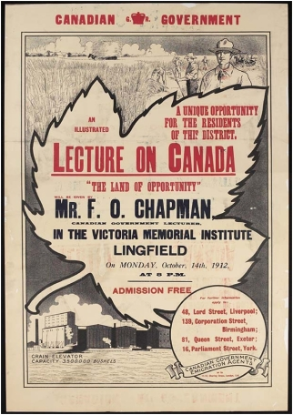 19121014 Poster lecture on Canada