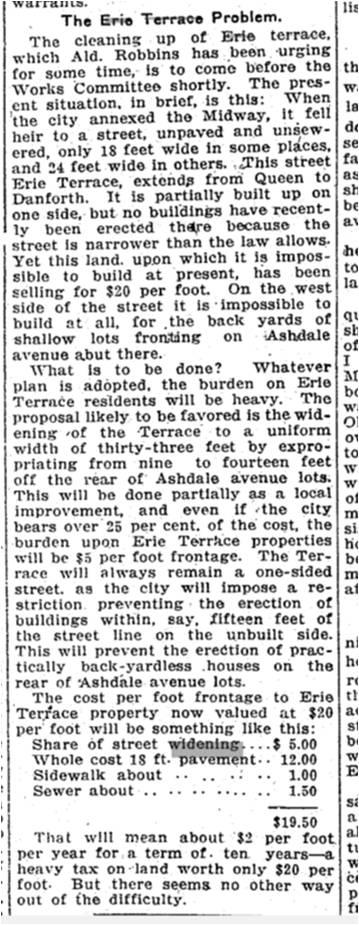 19130211TS The Erie Terrace Problem